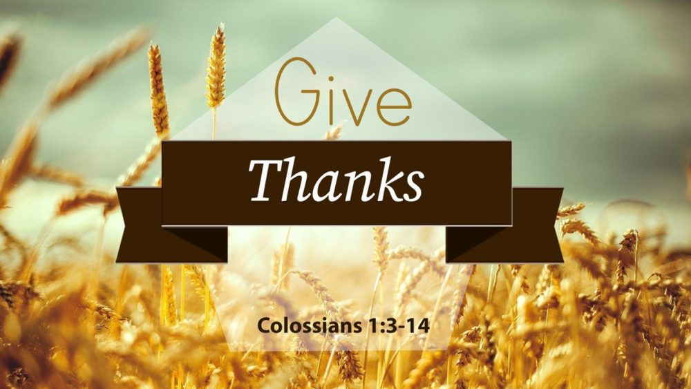 Give Thanks Image